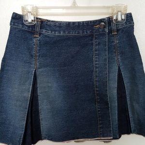 AX Armani Exchange jeans skirt